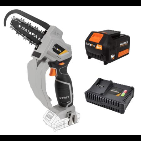 Batavia Batavia Nexxsaw Powerbundel XXL | compact cordless chainsaw | with 5.0 battery and  4.0 charger