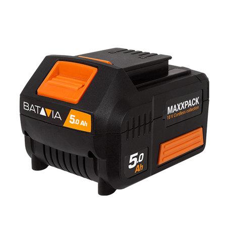 Batavia 18V 5.0 Accu  met 4.0 snellader