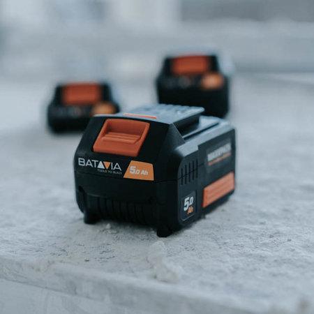 Batavia Batterie Batavia 18V 5.0  avec Chargeur rapide 4.0