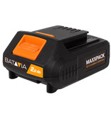 Batavia Accu 2.0Ah en Lader 2.4Ah - 18V | MaxxPack Accuplatform