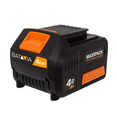 Batavia  Voegenborstel + Grastrimmer met 4.0 accu en snellader