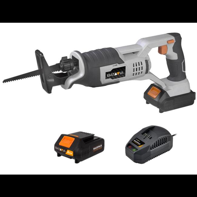 Batavia Scie alternative sans fil - 18V | incl. Batterie et chargeur | Plateforme de batterie MaxxPack