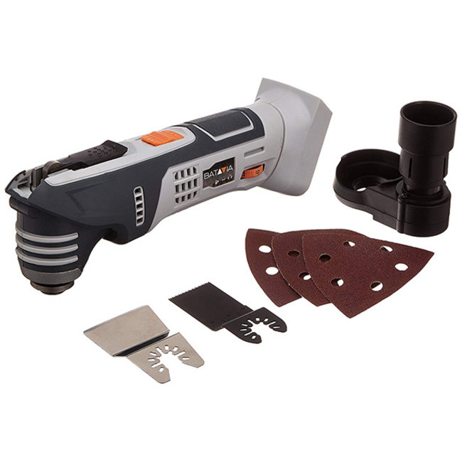 Batavia Battery Oscillating Multitool - 18V | Excl. Battery and Charger | MaxxPack Battery Platform