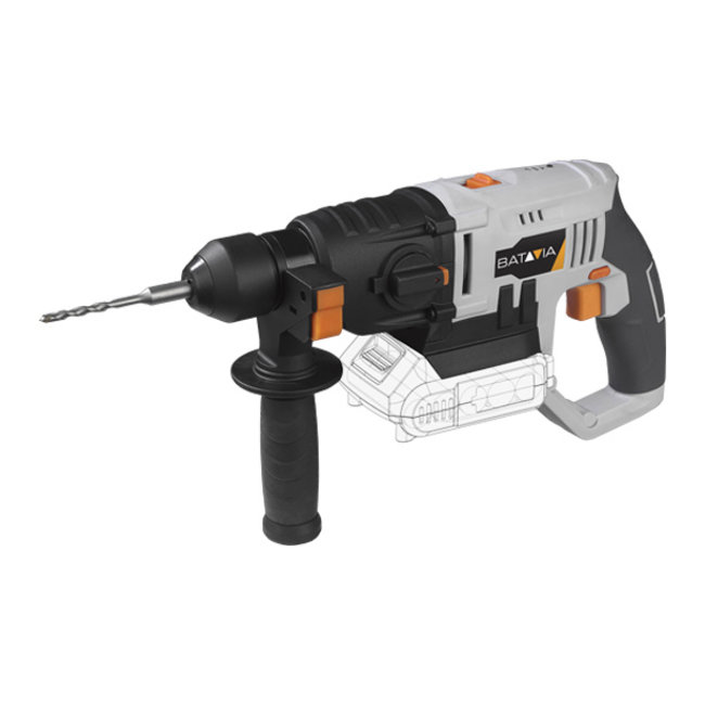 Batavia Cordless rotary hammer - SDS Plus - 18V | Excl. Battery and Charger | MaxxPack Battery Platform