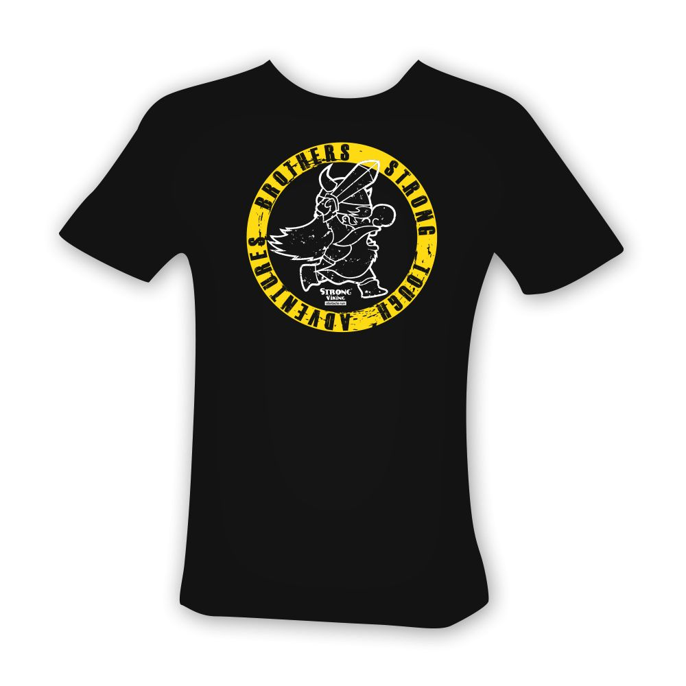 Strong Viking Men's Circle Logo Shirt