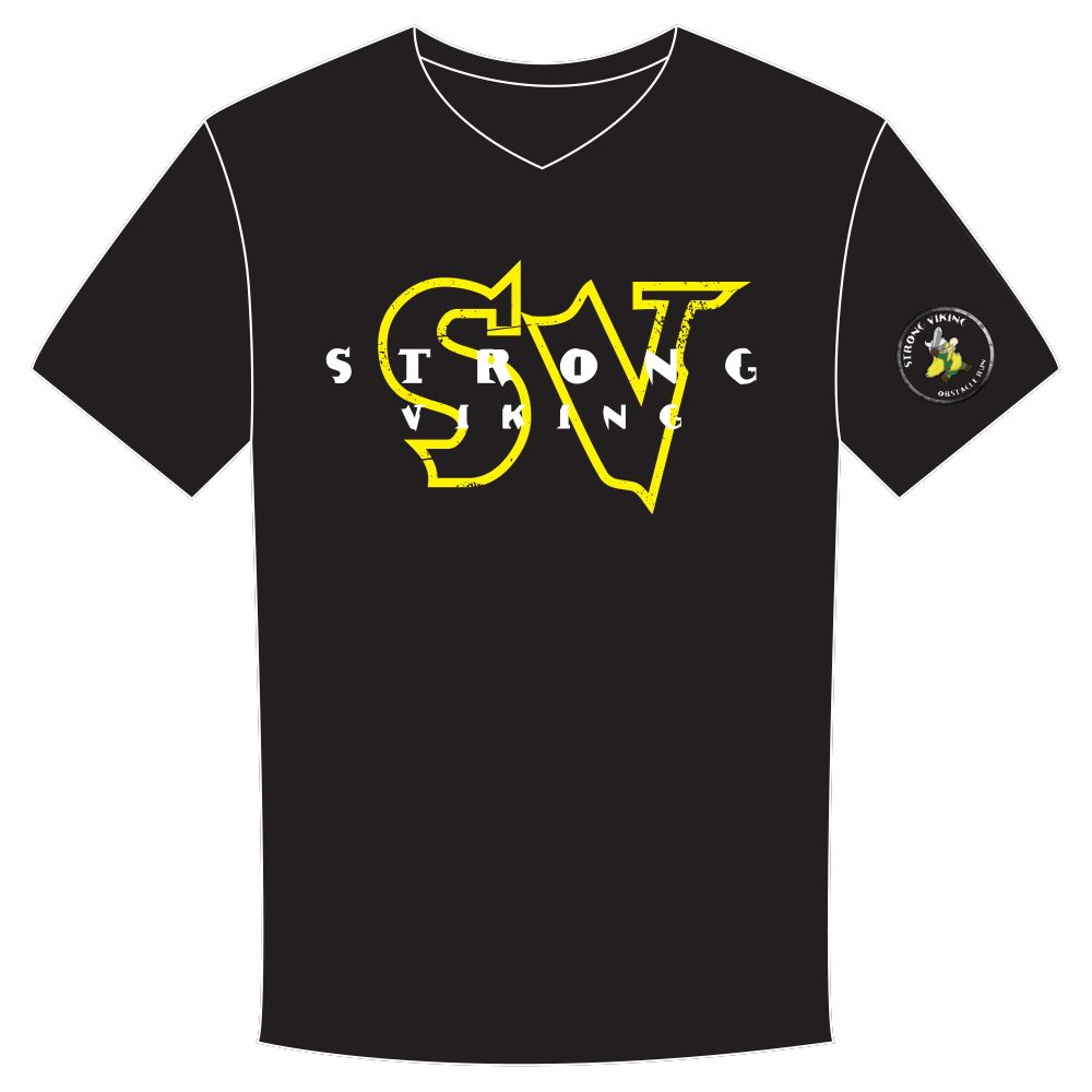 Strong Viking Men's SV Logo Shirt