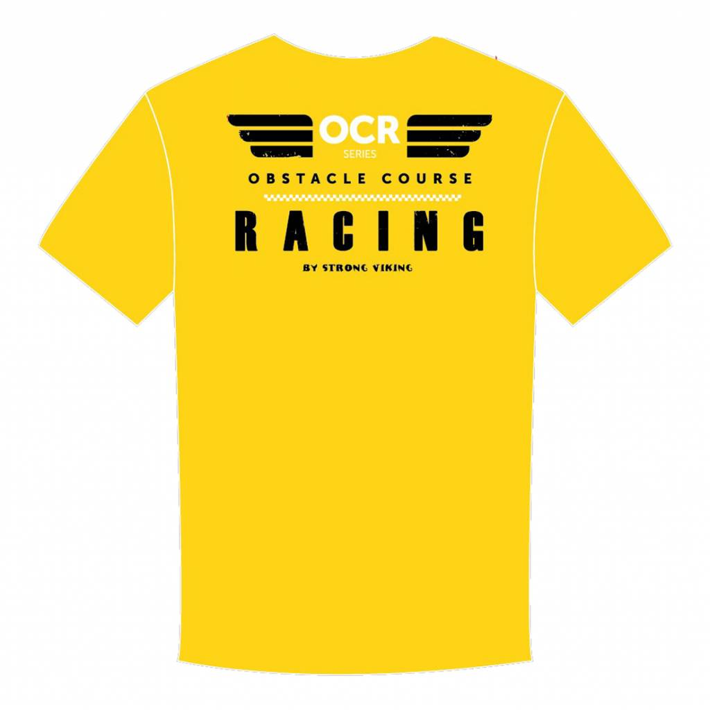 Strong Viking Men's OCR Shirt - Yellow