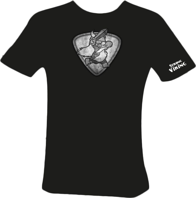 Strong Viking Women's Grey Logo Shirt