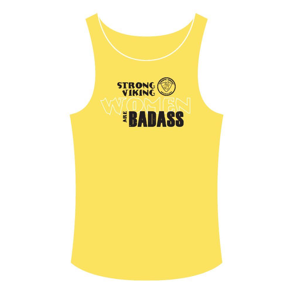 8d8edefd90029d Strong Viking Women s Tanktop - Yellow Strong Viking Women s Tanktop -  Yellow ...