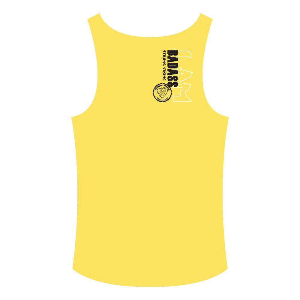 Strong Viking Women's Tanktop - Yellow
