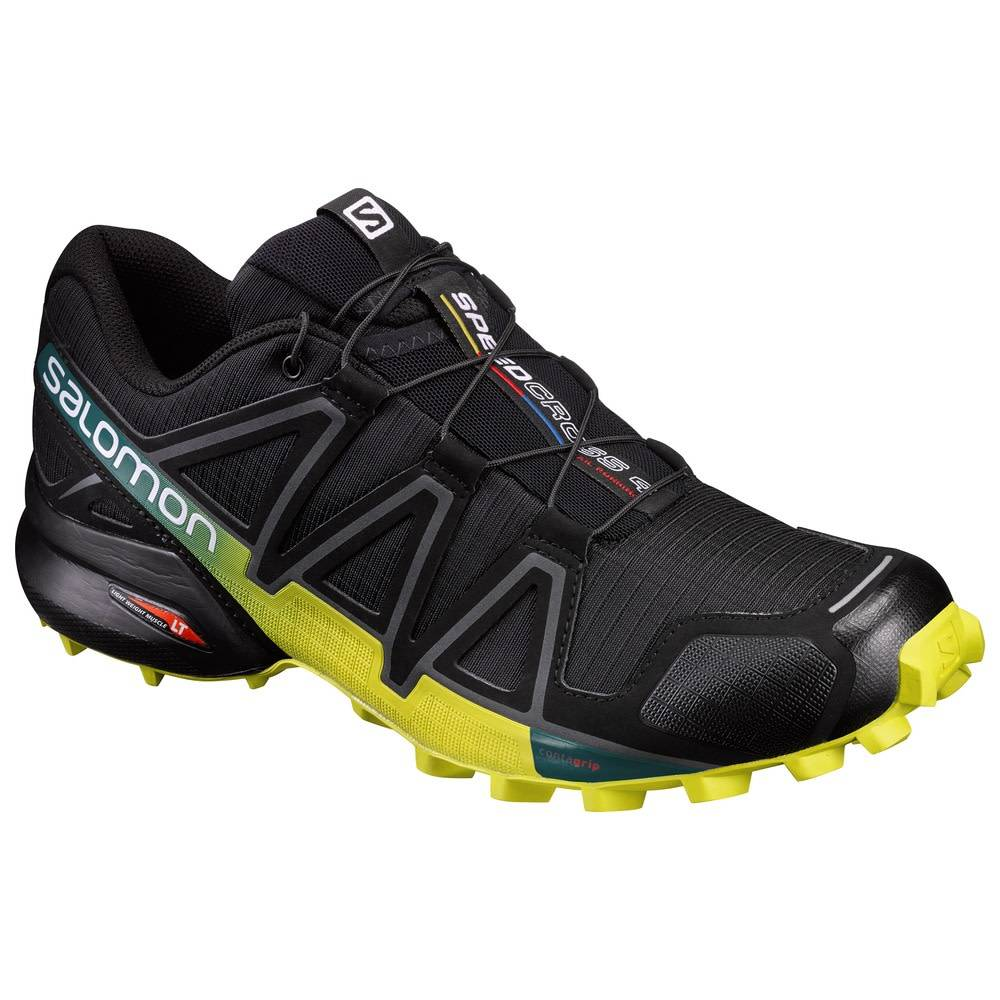 Salomon Salomon Speedcross 4 - Black Yellow