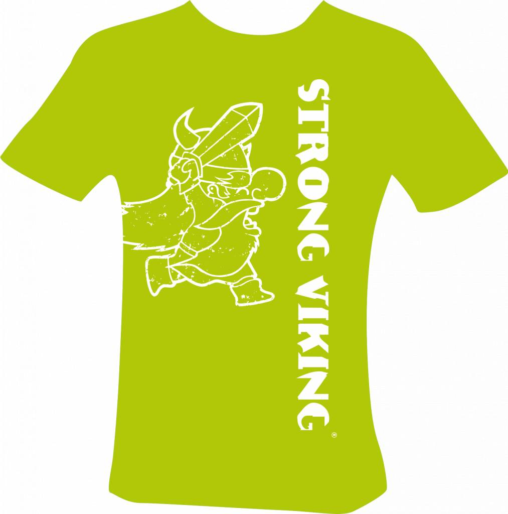 Strong Viking Kids Shirt Green NEW