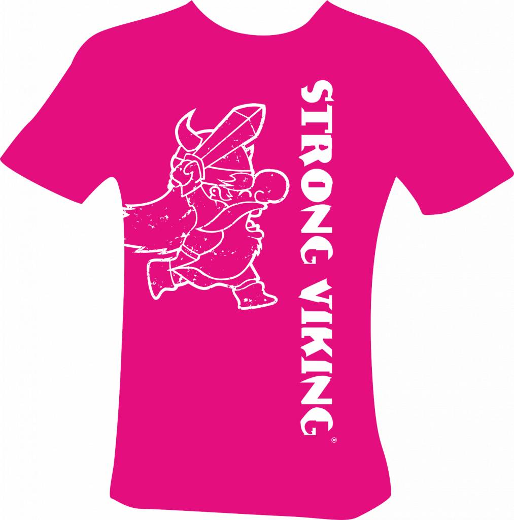 Strong Viking Kids Shirt Pink NEW