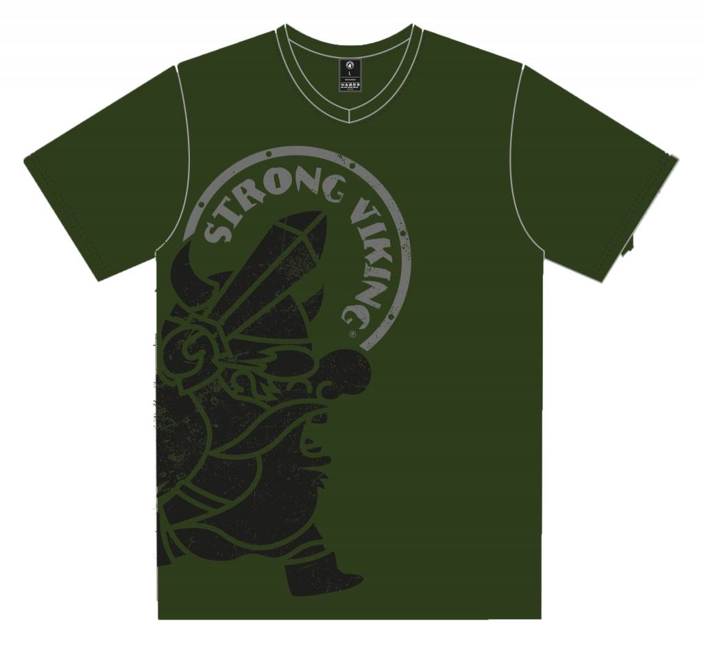 Strong Viking Casual Army Shirt - Men