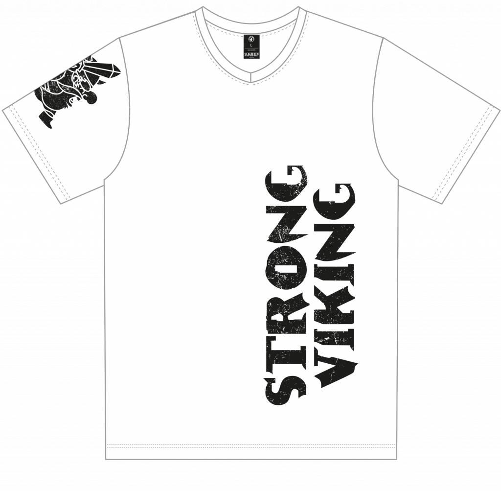 Strong Viking Casual White Shirt - Men