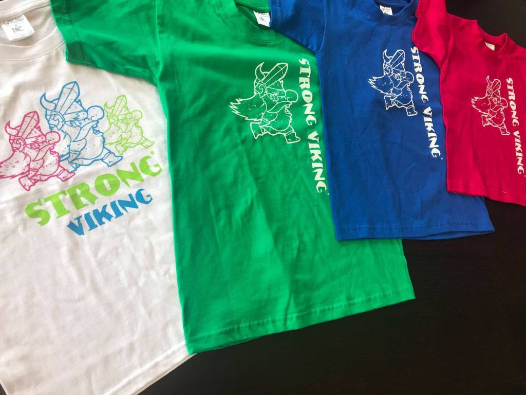 Strong Viking Kids Shirt Blue NEW