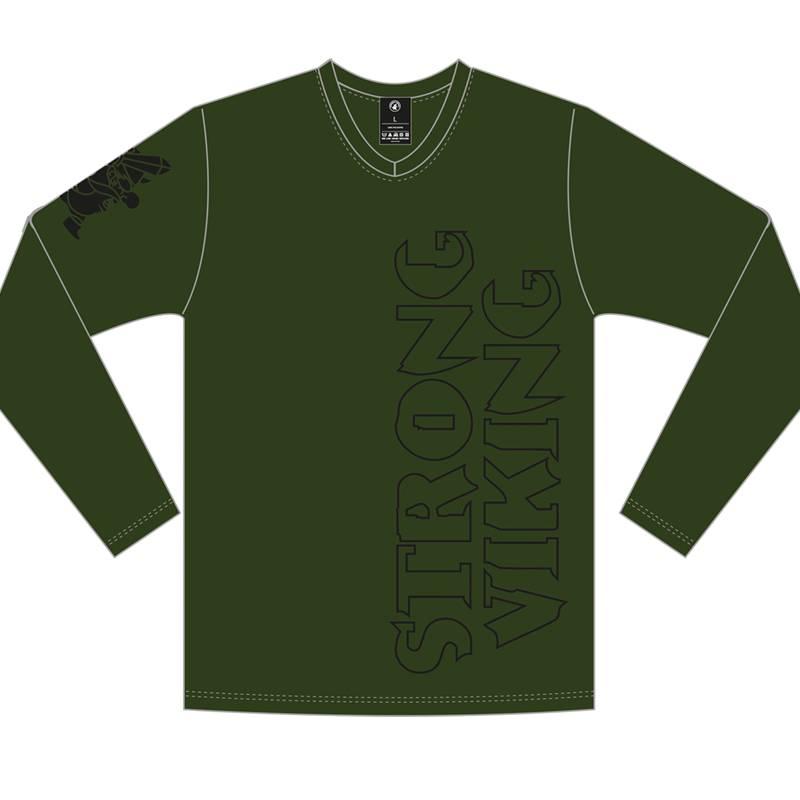 Strong Viking Men SV Longsleeve Green