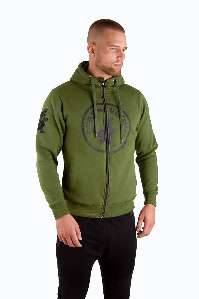 Strong Viking SV Hooded Jack Green
