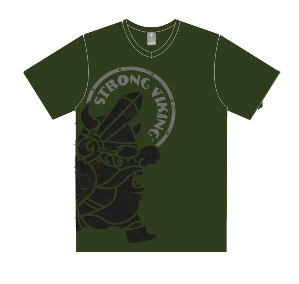 Strong Viking Casual Army Shirt - Women