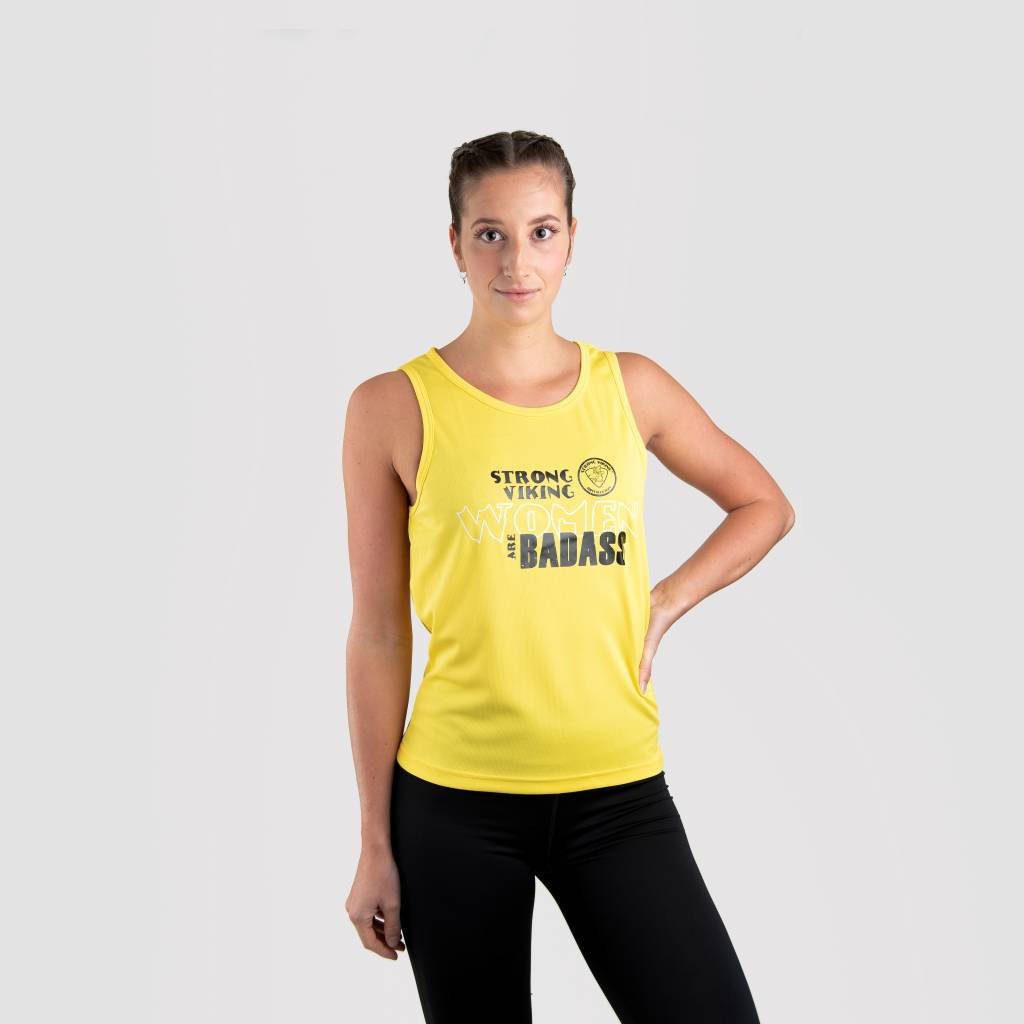7f08cb59472efe Strong viking womens tanktop yellow jpg 1024x1024 Yellow tank top