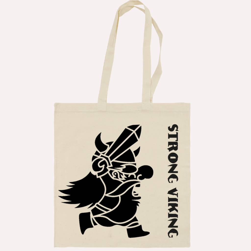 Strong Viking Canvas bag