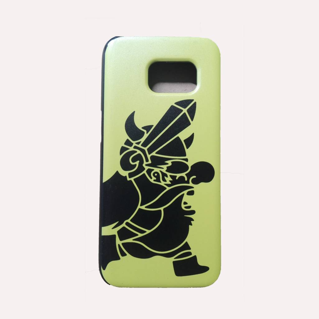 Strong Viking Phone Case Yellow