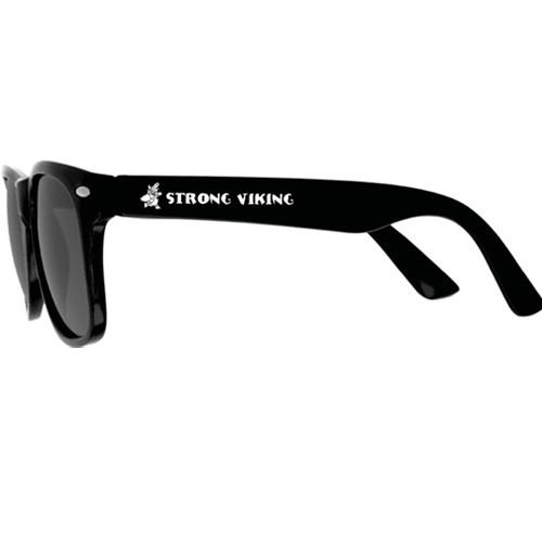 Strong Viking Sunglasses - Black