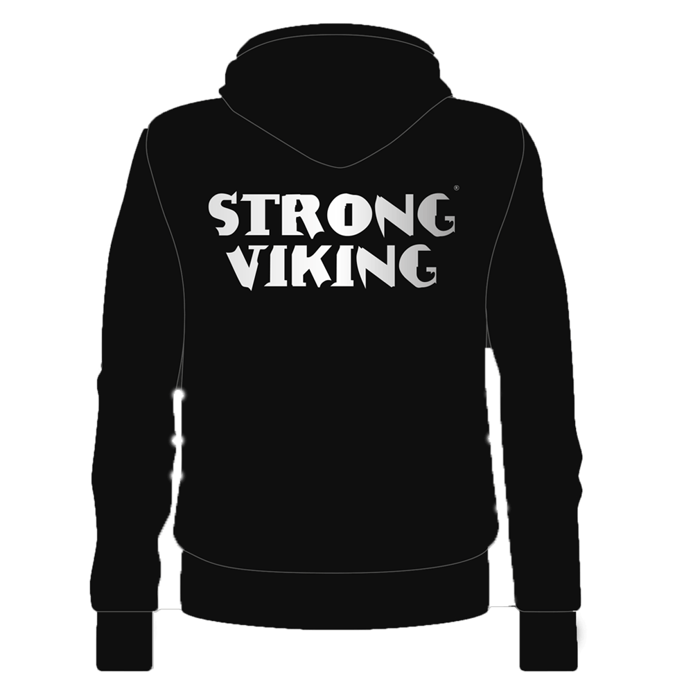 Strong Viking Kids hoodie black