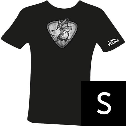 Strong Viking Women's Grey Logo Shirt S