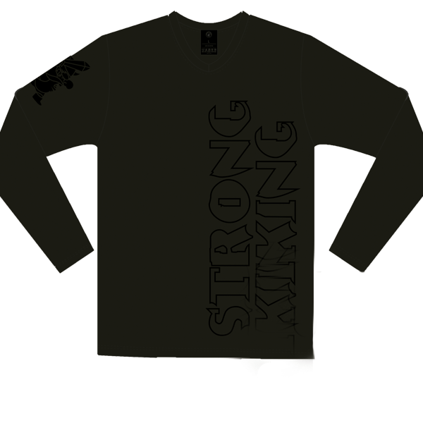 Strong Viking Longsleeve Black