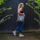 Strong Viking Canvas Bag Premium Grey/White