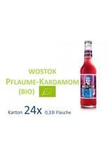 Wostok Wostok Pflaume Kardamon 24 x 330ml BIO