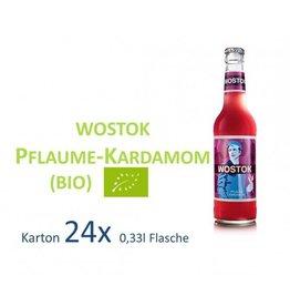 Wostok Pflaume Kardamon 24 x 330ml BIO