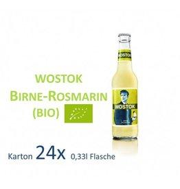 Wostok Birne - Rosmarin 24 x 330ml BIO