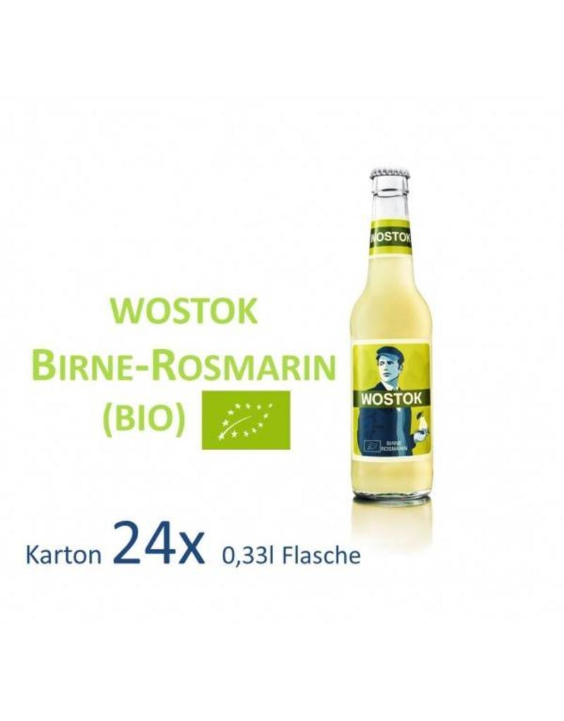 Wostok Wostok Birne - Rosmarin 24 x 330ml BIO