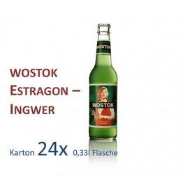 Wostok Estragon - Ingwer 24 x 330ml