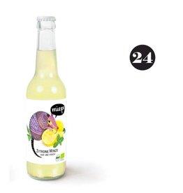 Mieps Zitrone - Minze  24x33cl BIO