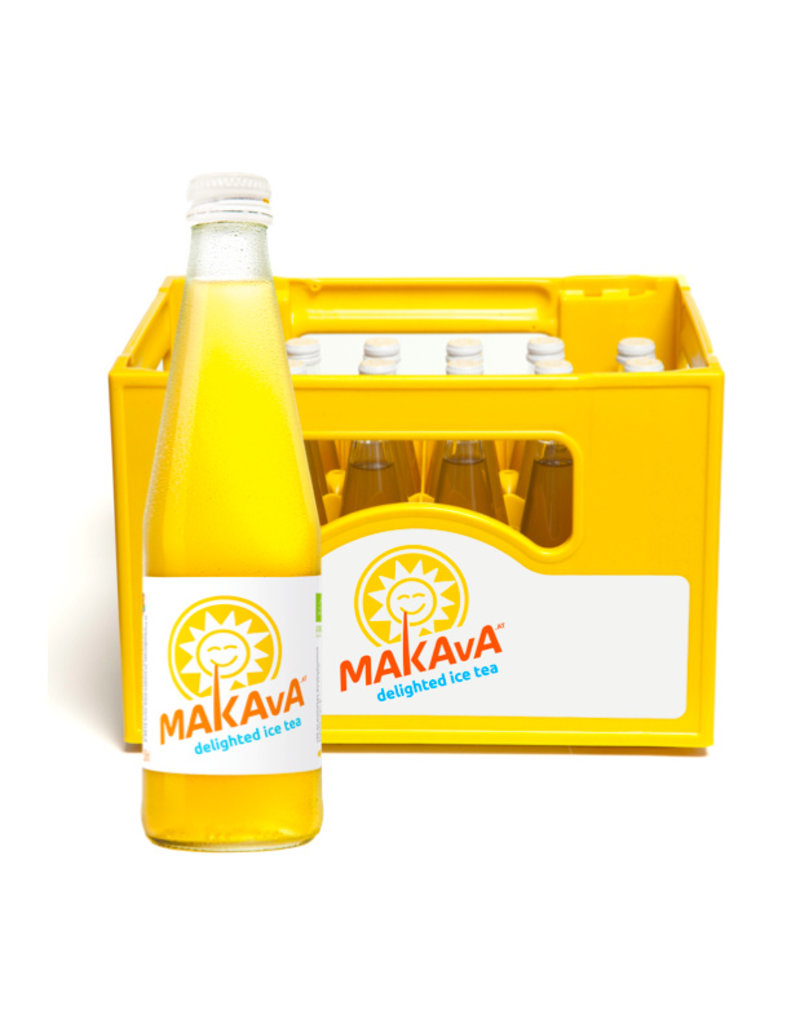 MAKAvA Mate Ice Tea 24 x 330ml BIO