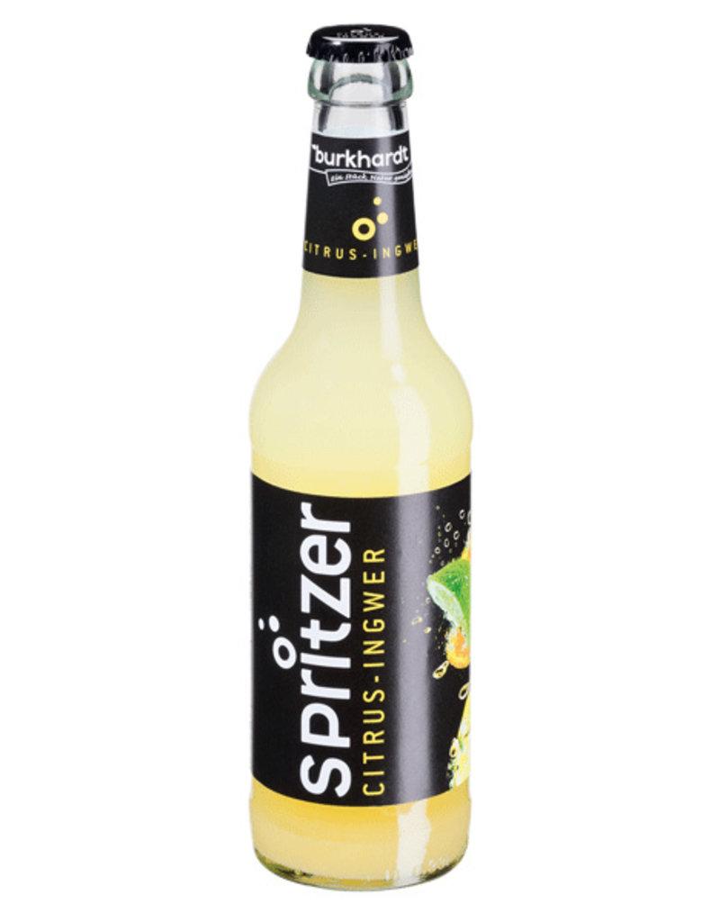 Burkhardt Spritzer Citrus-Ingwer 24x33cl