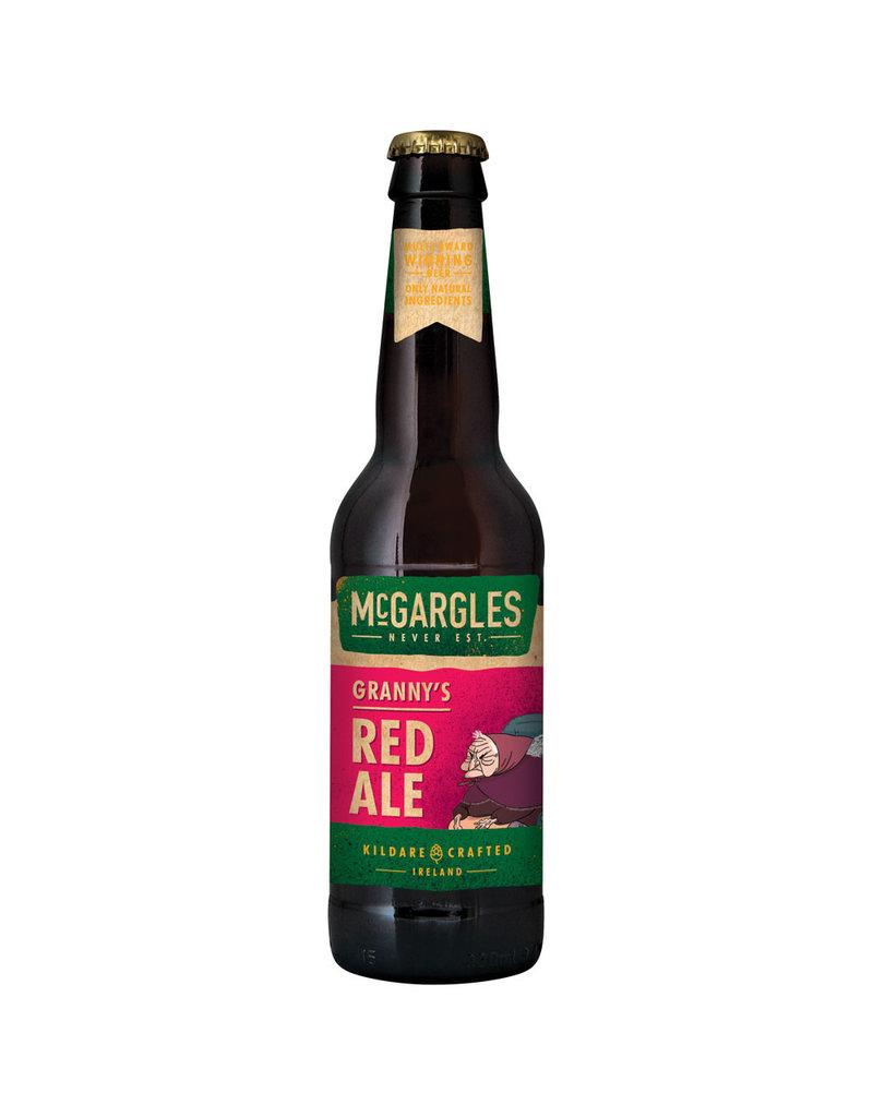 Mc Gargles Granny Mary Red Ale 24x33cl