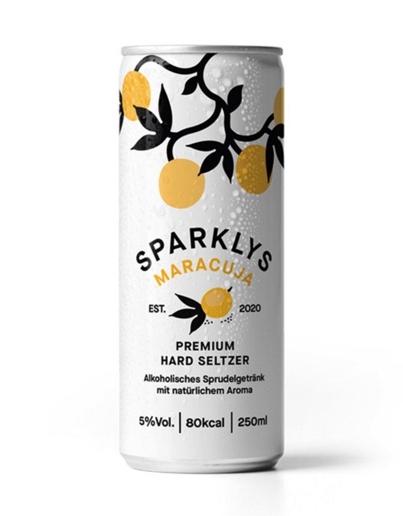 Sparklys Hard Seltzer Maracuja 250ml Dose