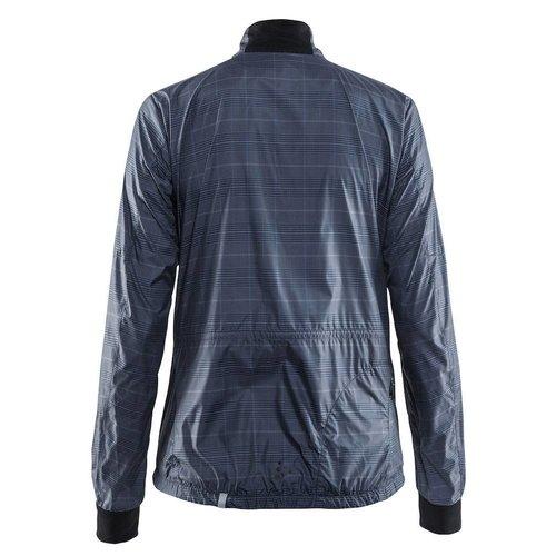 Craft Ride Wind Jacket dames grijs OP=OP