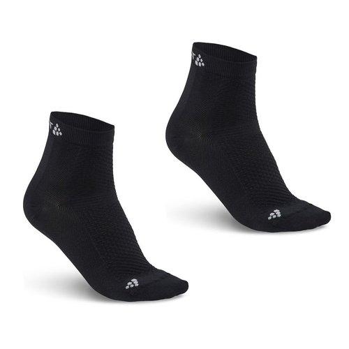 Craft Craft  Cool Mid 2-pack Sock zwart