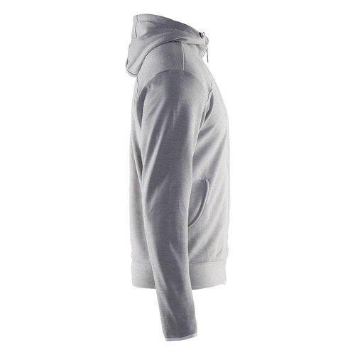 Craft Craft Leisure Hood Full Zip vest heren grijs