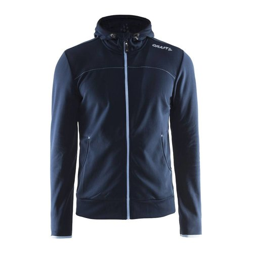 Craft Craft Leisure Hood Full Zip trui heren, navy