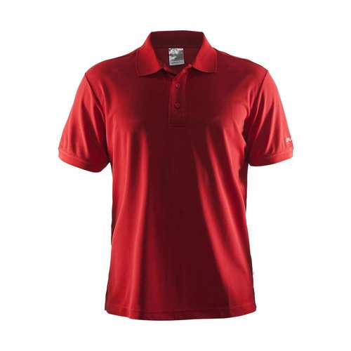 Craft Craft Polo Pique heren rood