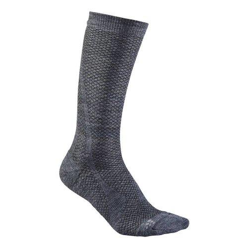 Craft Warm Mid Sok grijs