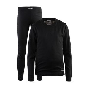 Craft Baselayer Thermo Set kinderen zwart