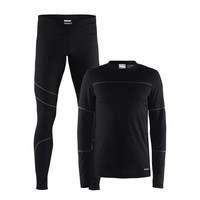 Baselayer Set heren zwart
