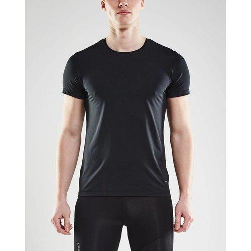 Craft Essential Shortsleeve Shirt heren zwart